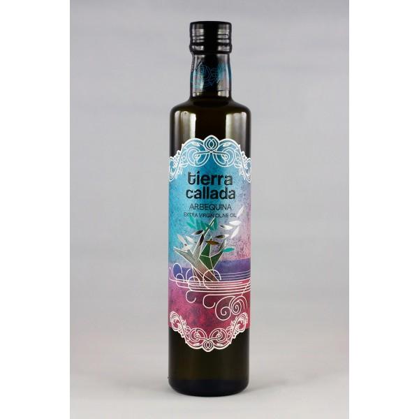 EVOO Arbequina bottle 16.9 fl oz