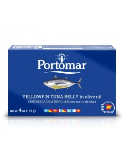 Yellowfin Tuna Belly in Olive Oil